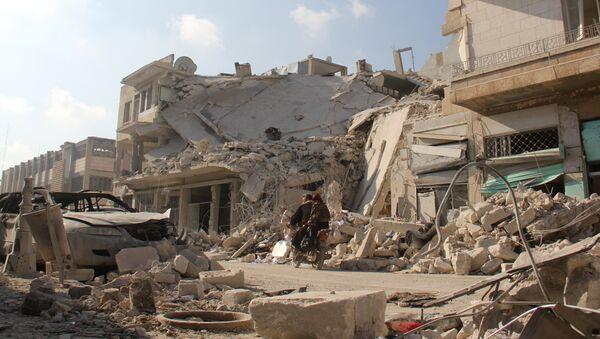 Rusia descalifica a EEUU por acusarla de provocar víctimas civiles en Siria - Sputnik Mundo