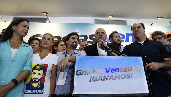 Miembros de la oposición venezolana - Sputnik Mundo