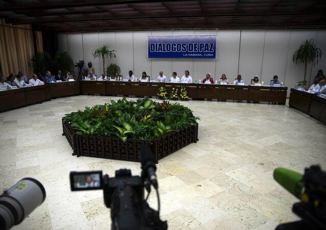 Diálogos de paz en la Habana (archivo)