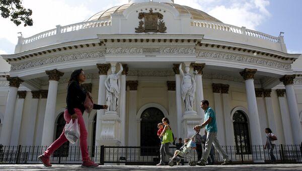 Parlamento de Venezuela (archivo) - Sputnik Mundo