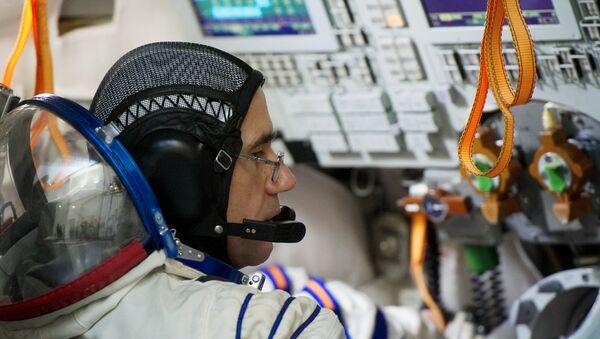 Yuri Malenchenko, cosmonauta ruso del equipaje ISS 46/47 - Sputnik Mundo