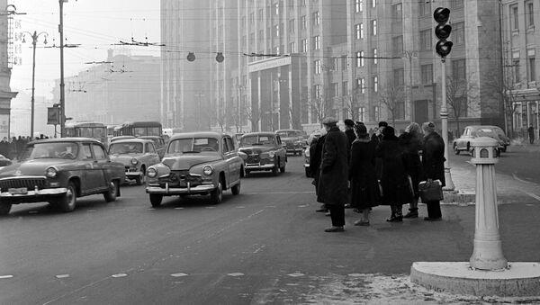 Moscú en el año 1959 - Sputnik Mundo