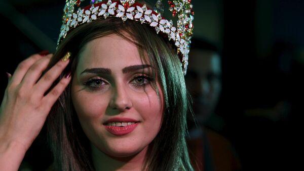 Shaima Qassem, ganadora de concurso de belleza Miss Irak de 2015 - Sputnik Mundo