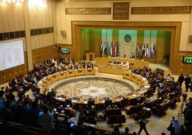 Reunión de la Liga Árabe en El Cairo, Egipto (archivo)