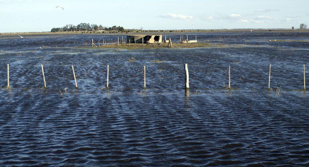 Inundaciones como consecuencias de las lluvias en Argentina en agosto de 2015