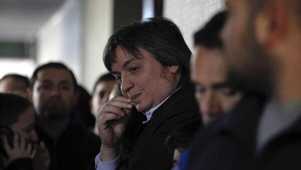 Máximo Kirchner - Sputnik Mundo