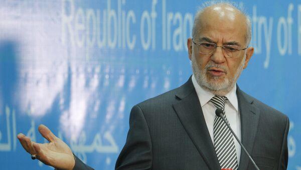 Ibrahim al Jaafari, ministro de Exteriores de Irak - Sputnik Mundo