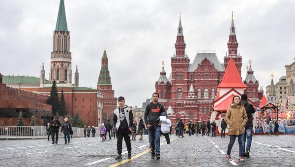 Invierno en Moscú, Rusia - Sputnik Mundo