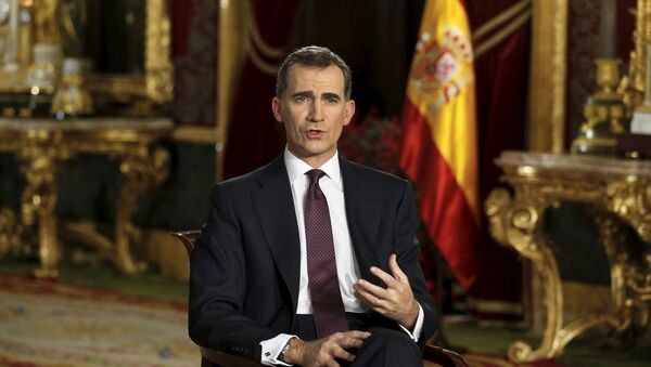 Felipe VI, rey de España - Sputnik Mundo