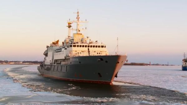 Buque de rescate Ígor Beloúsov - Sputnik Mundo