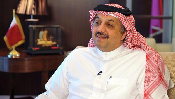 Jalid bin Muhammad al Atiyah, ministro de Exteriores de Catar - Sputnik Mundo