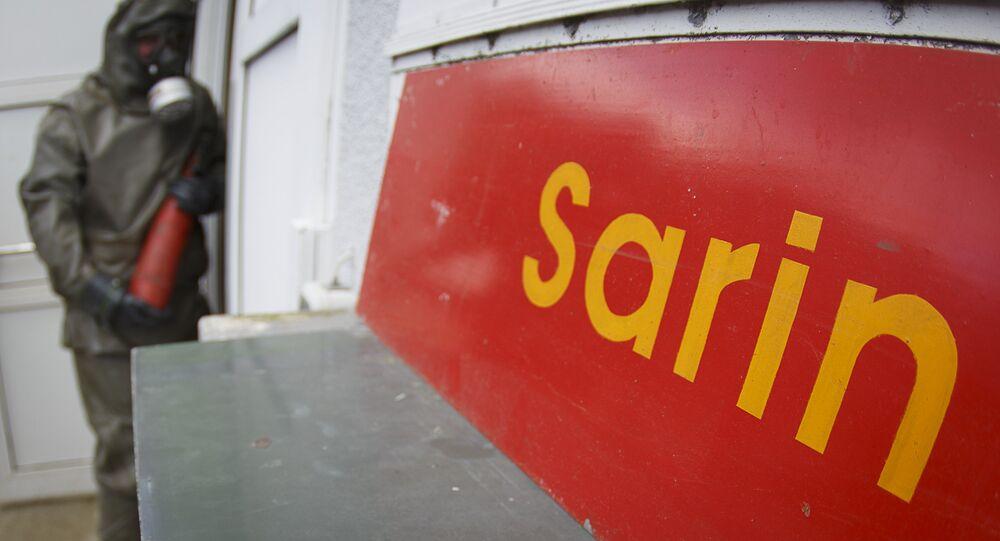 Sarín, arma química