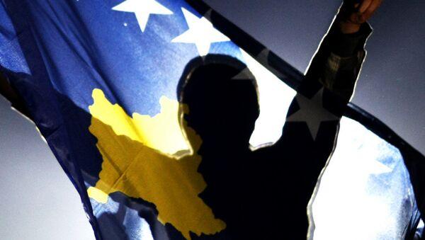 La bandera de Kosovo - Sputnik Mundo