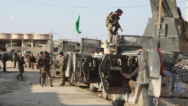 Militares iraquíes se preparan para atacar los terroristas de Daesh en el centro de Ramadi - Sputnik Mundo