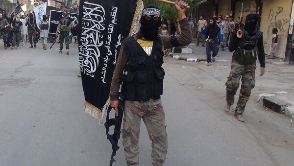 Combatientes del grupo terrorista Frente al Nusra - Sputnik Mundo