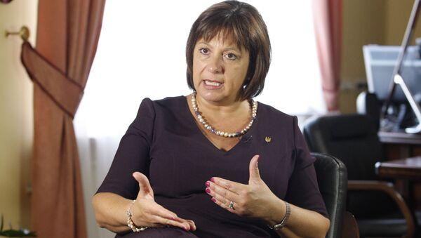 Natalia Jaresko, exministra ucraniana - Sputnik Mundo