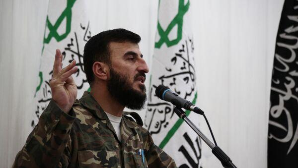 Zahran Alloush, líder del grupo terrorista Jaysh al Islam - Sputnik Mundo