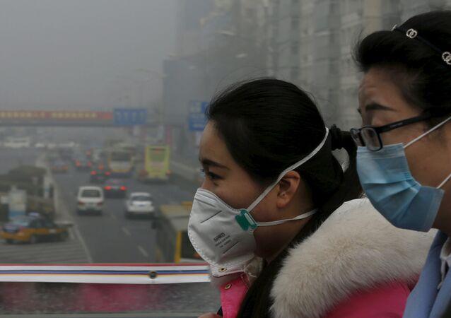 Problema de polución en China