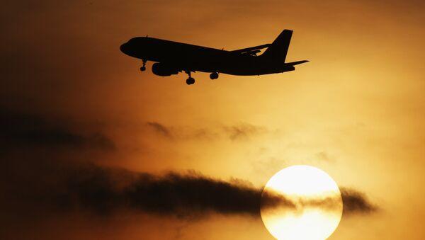 Un avión en el aeropuerto moscovita de Domodédovo - Sputnik Mundo