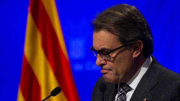 Artur Mas, expresidente en funciones del Gobierno de Cataluña - Sputnik Mundo