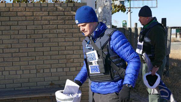 Observadores de la OSCE - Sputnik Mundo