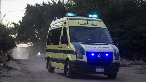 Egyptian ambulance - Sputnik Mundo