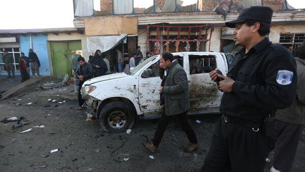Servicios de seguridad en Afganistán - Sputnik Mundo