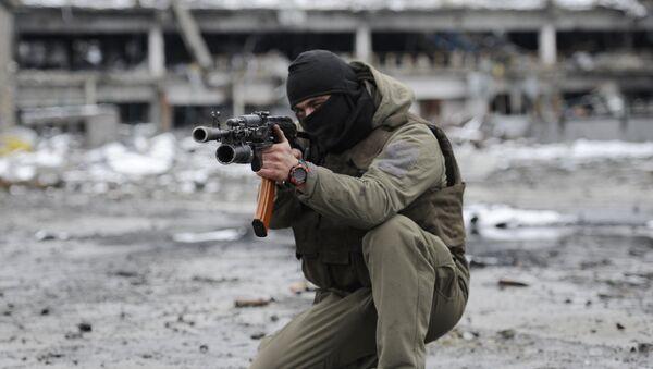 Milicianos de Donbás - Sputnik Mundo