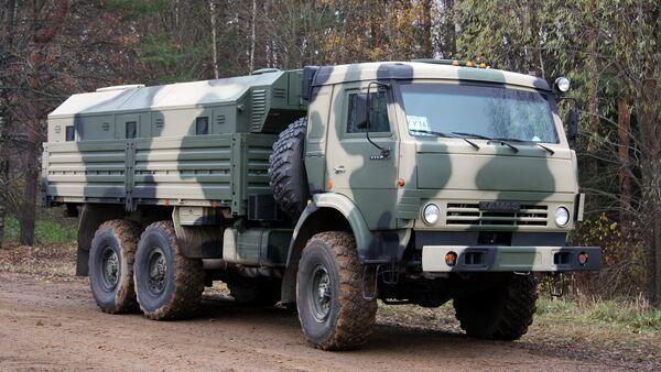 Un camión Kamaz-5350 - Sputnik Mundo