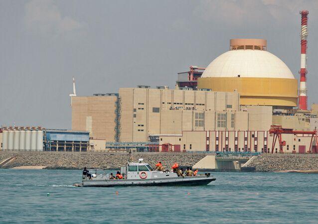 La central nuclear india de Kudankulam