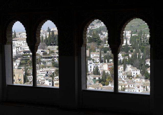 La ciudad española de Granada