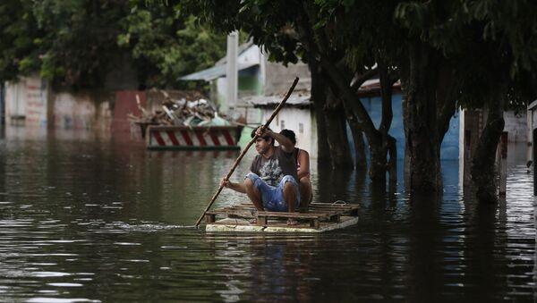 Inundaciones en América Latina - Sputnik Mundo