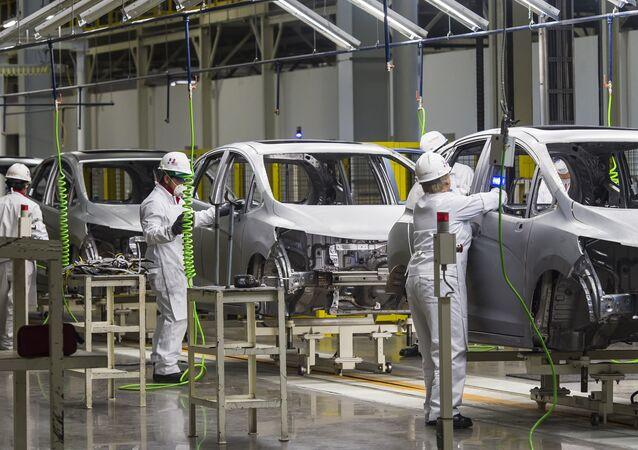 Industria automotriz de México