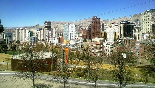 La Paz, vista desde el Parque Urbano Central - Sputnik Mundo