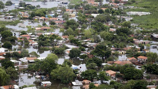 Inundaciones en Paraguay - Sputnik Mundo