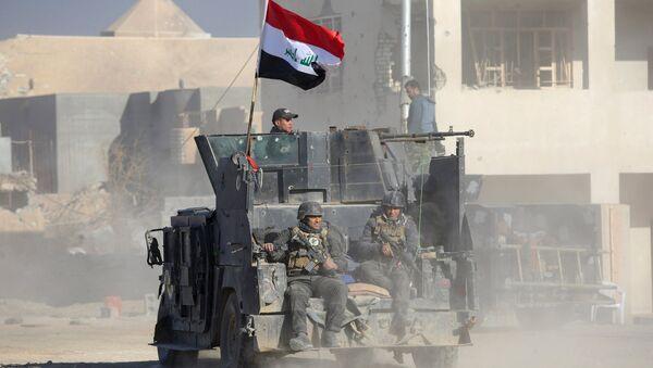 Militares iraquíes en Ramadi - Sputnik Mundo