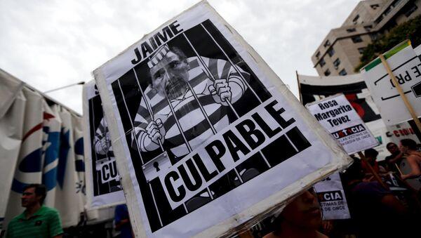 Exfuncionarios argentinos a prisión por tragedia ferroviaria - Sputnik Mundo