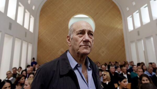 Ehud Olmert, ex primer ministro de Israel - Sputnik Mundo
