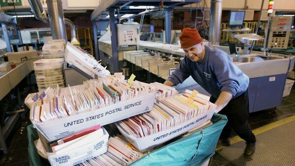 Oficina de correos en EEUU - Sputnik Mundo