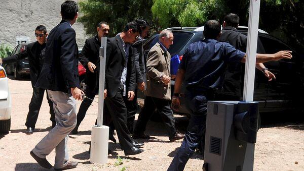 Eugenio Figueredo, exvicepresidente de la FIFA, después de extradición a Uruguay - Sputnik Mundo