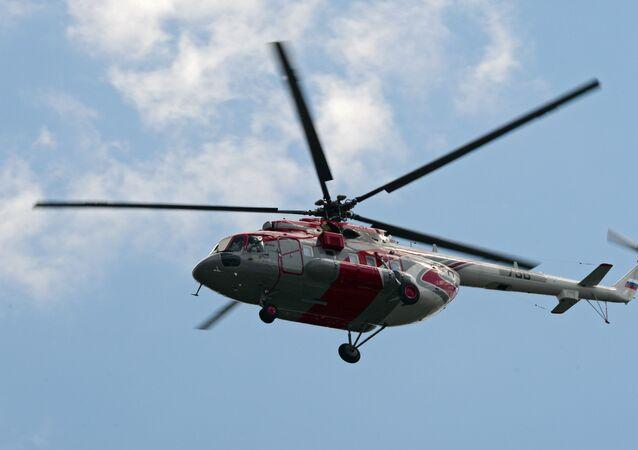 Un helicóptero ruso Mi-171