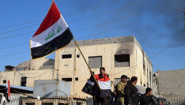 Miembros de las Fuerzas antiterroristas iraquíes en Ramadi - Sputnik Mundo