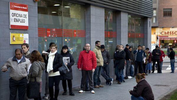 El paro en España - Sputnik Mundo
