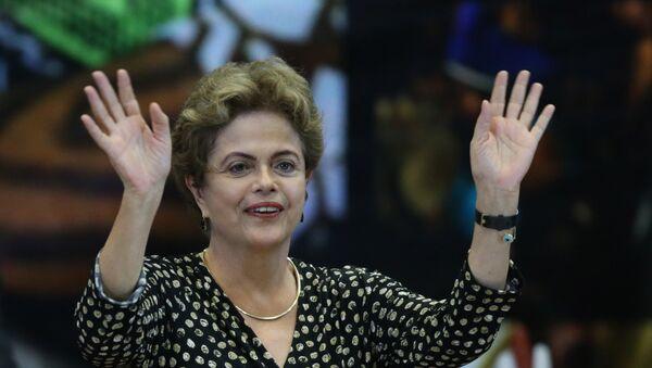 Presidente de Brasil, Dilma Rousseff - Sputnik Mundo