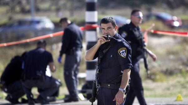 Policía israelí (archivo) - Sputnik Mundo