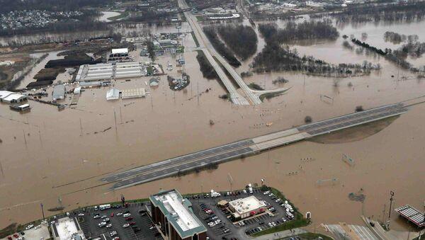 Inundaciones en EEUU - Sputnik Mundo