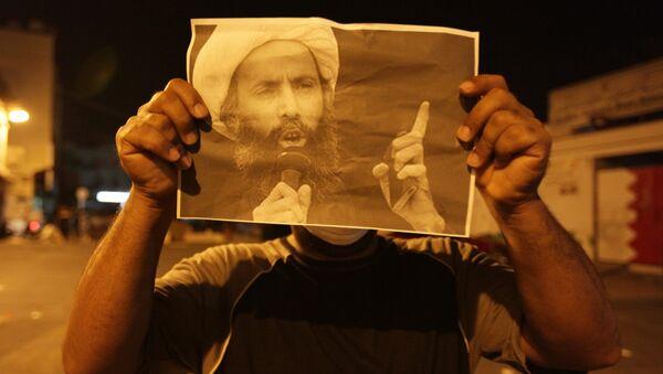 Manifestación de protesta tras la ejecución del clérigo chií Nimr al Nimr - Sputnik Mundo