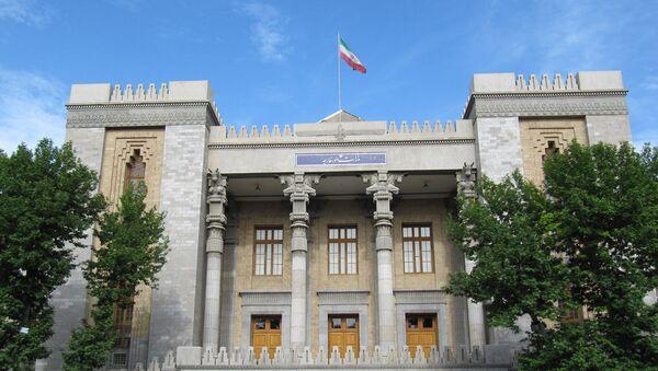 Ministerio de Asuntos Exteriores de Irán - Sputnik Mundo