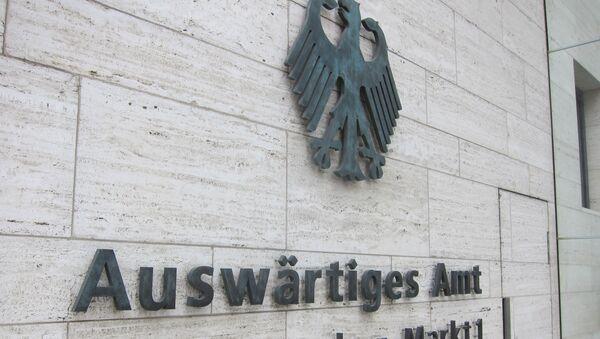 Ministerio de Exteriores de Alemania - Sputnik Mundo