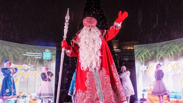Дед Мороз из Великого Устюга посетил Самару - Sputnik Mundo